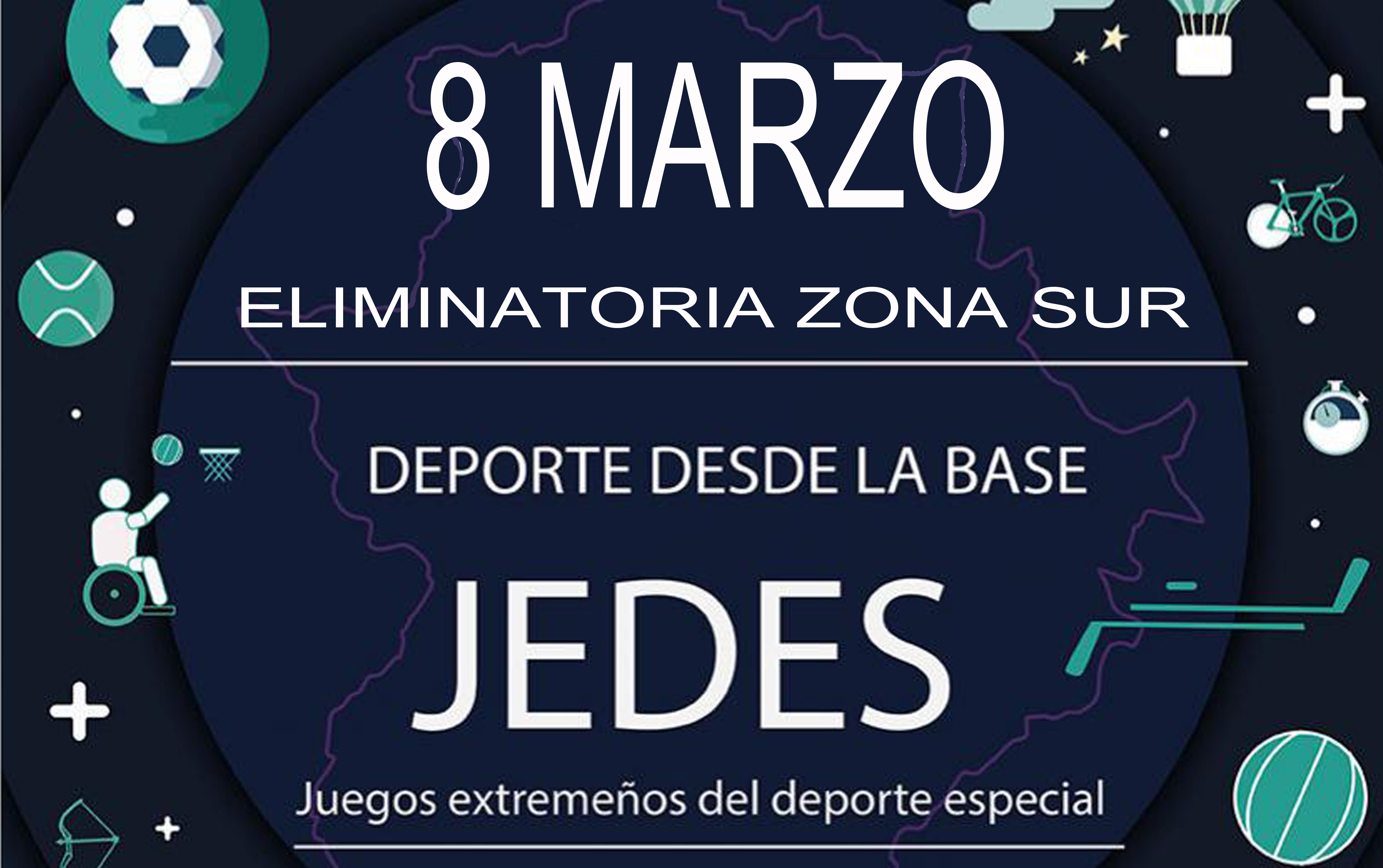 Puebla acoge los JEDES –Juegos Extremeños del Deporte Especial-