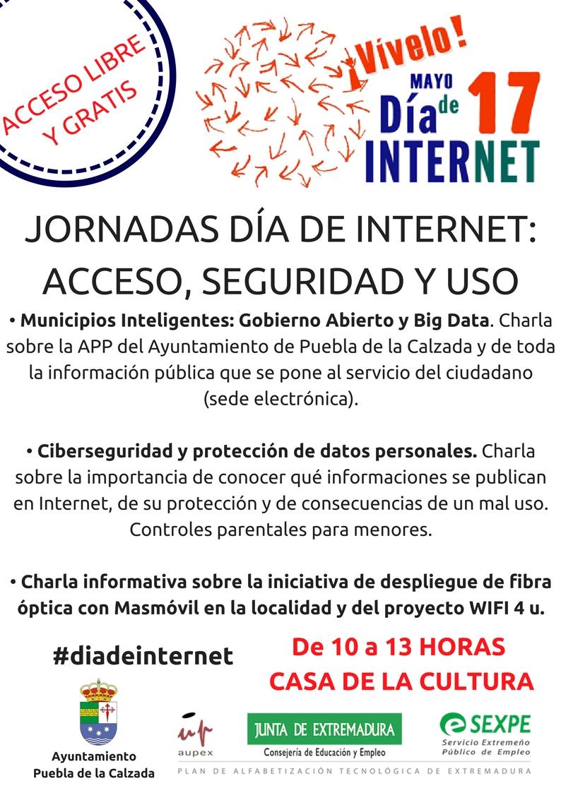 JORNADAS SOBRE INTERNET: ACCESO, SEGURIDAD Y USO