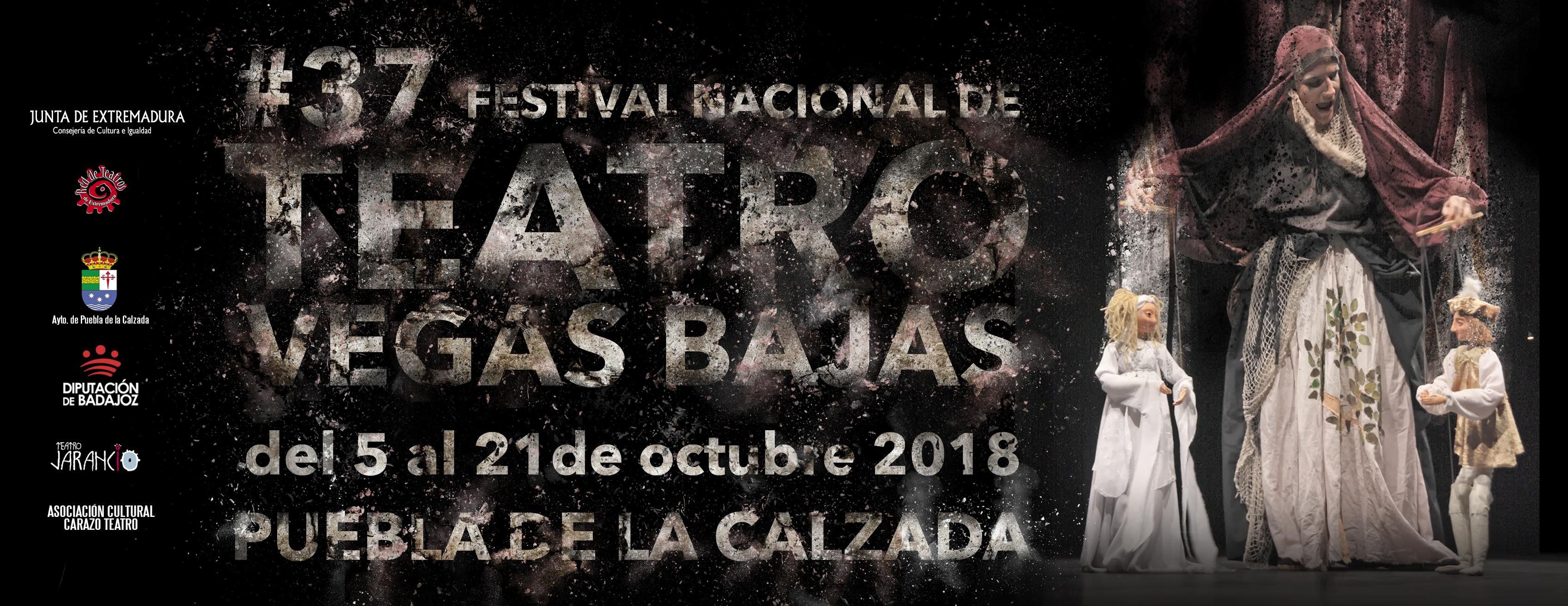 ENTRADAS A LA VENTA DEL XXXVII FESTIVAL NACIONAL DE TEATRO VEGAS BAJAS