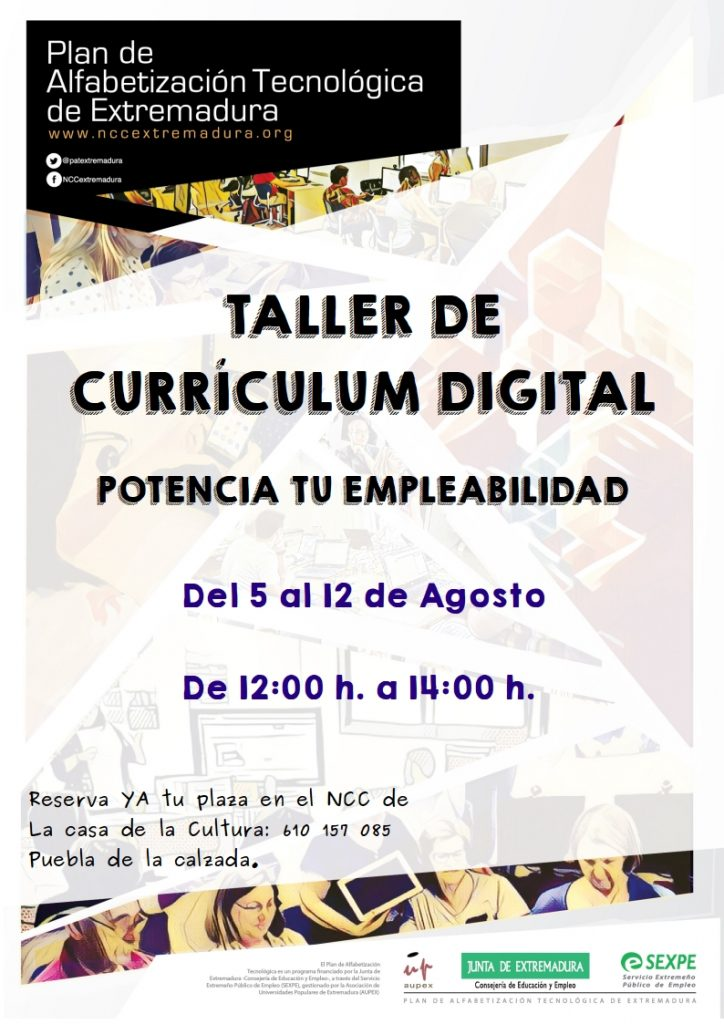 taller de currículum digital