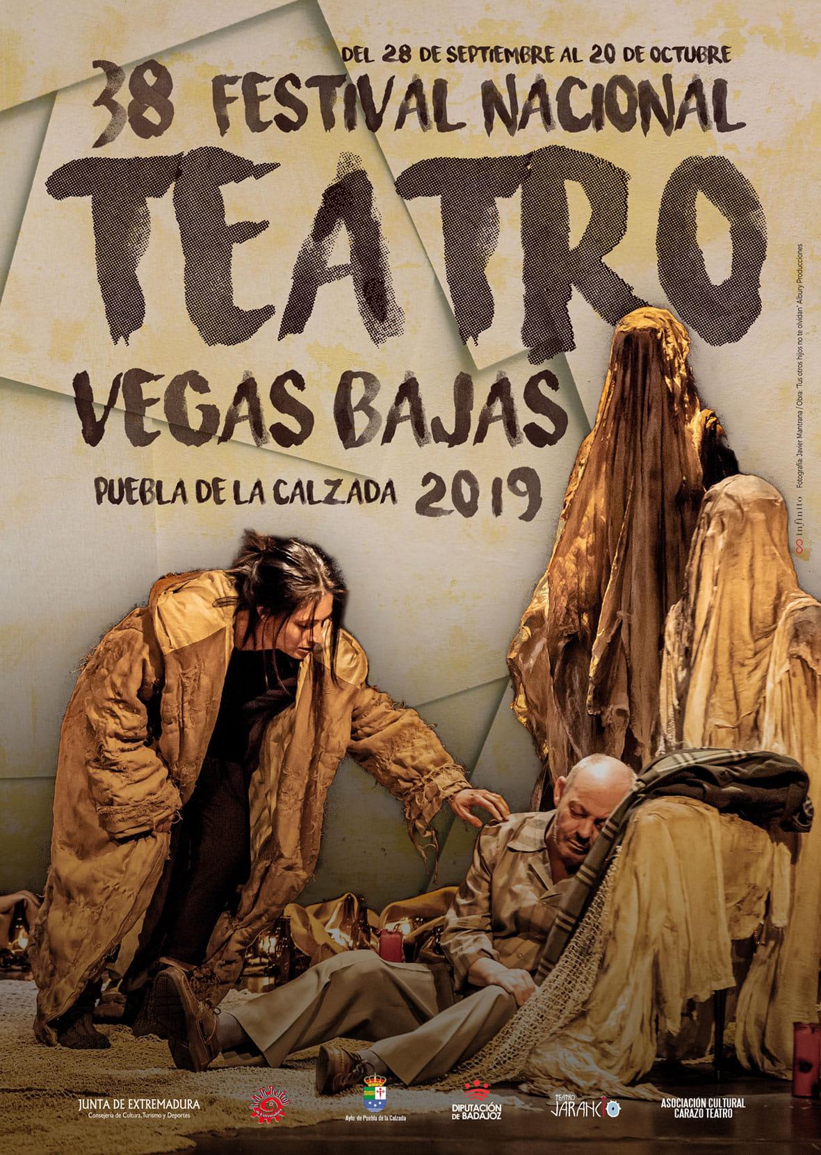 EL FESTIVAL NACIONAL DE TEATRO VEGAS BAJAS RECIBE EL PREMIO ROSA MARÍA GARCÍA CANO