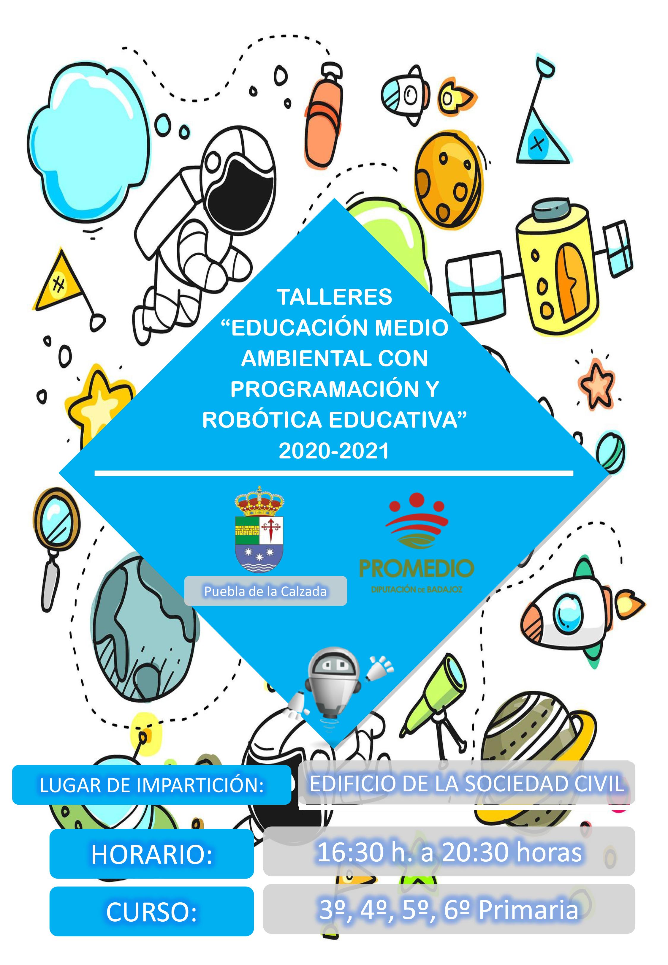 TALLER DE EDUCACIÓN AMBIENTAL Y ROBÓTICA PARA PRIMARIA