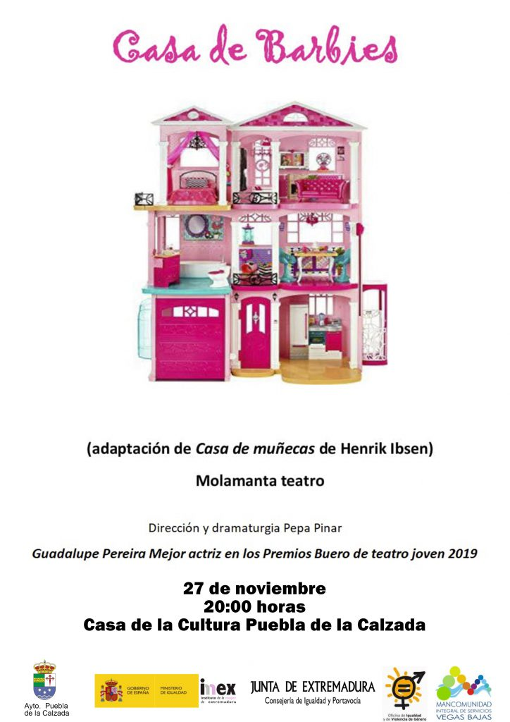 cartel Casa de Barbies
